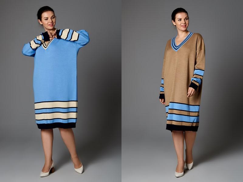 Plus size по-русски: бренд KHAN коллекция одежды для полных - фото 5