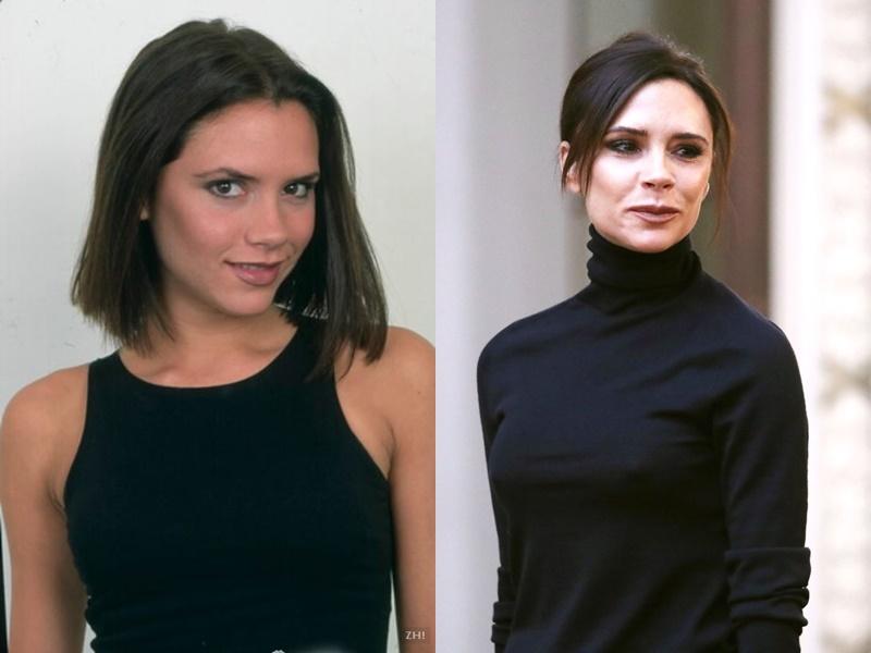 Девушки из Spice Girls тогда и сейчас - Виктория Бекхэм - фото 1