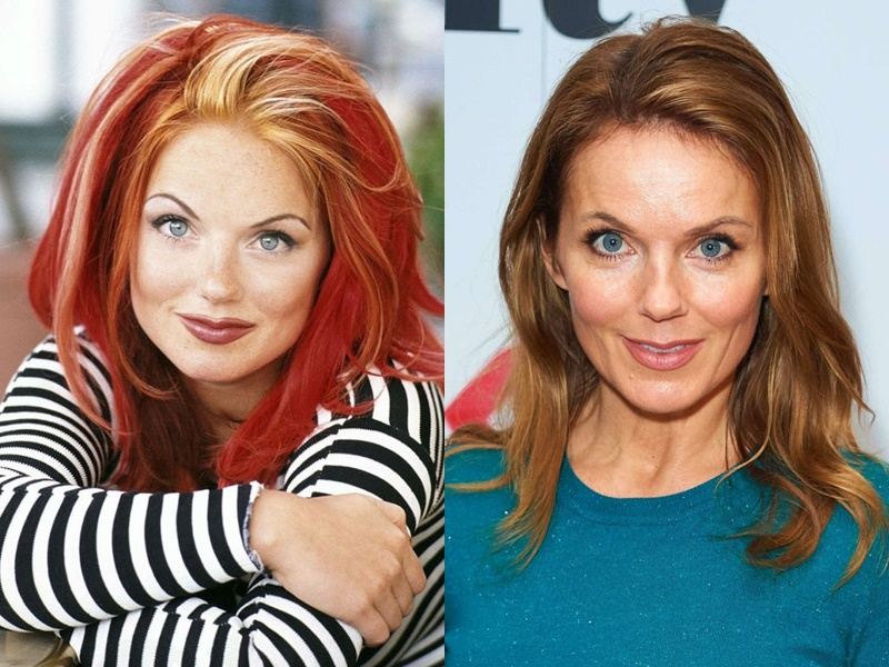 Девушки из Spice Girls тогда и сейчас - Джери Холлиуэлл - фото 1
