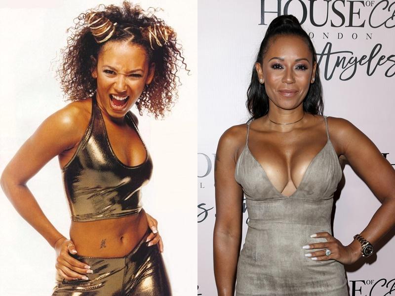 Девушки из Spice Girls тогда и сейчас - Мелани Браун - фото 1