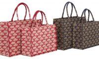 Новинка Elisabetta Franchi: сумка-шоппер Monogram
