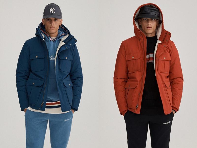 Мужская коллекция одежды Woolrich x Aimé Leon Dore осень-зима 2019-2020 - фото 6