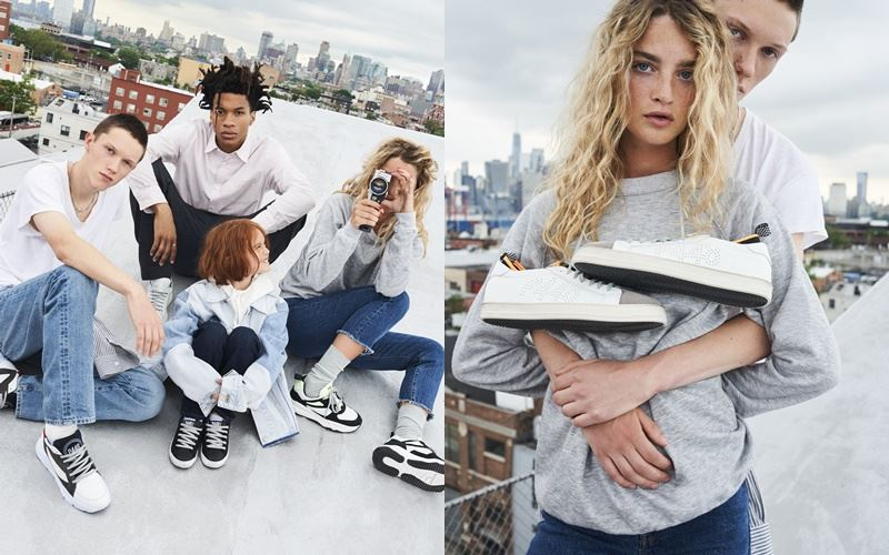 Рекламная кампания итальянского бренда кроссовок P448 осень-зима 2019-2020 - фото 2