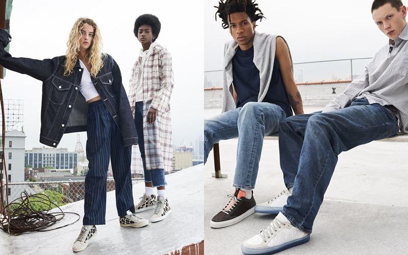 Рекламная кампания итальянского бренда кроссовок P448 осень-зима 2019-2020 - фото 3