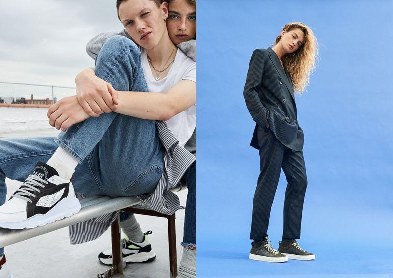 Рекламная кампания итальянского бренда кроссовок P448 осень-зима 2019-2020 - фото 4