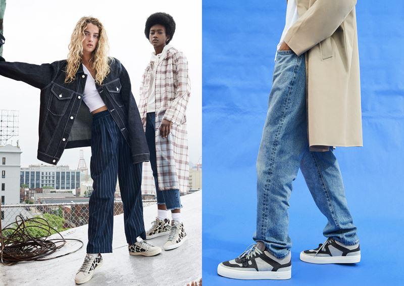 Рекламная кампания итальянского бренда кроссовок P448 осень-зима 2019-2020 - фото 5