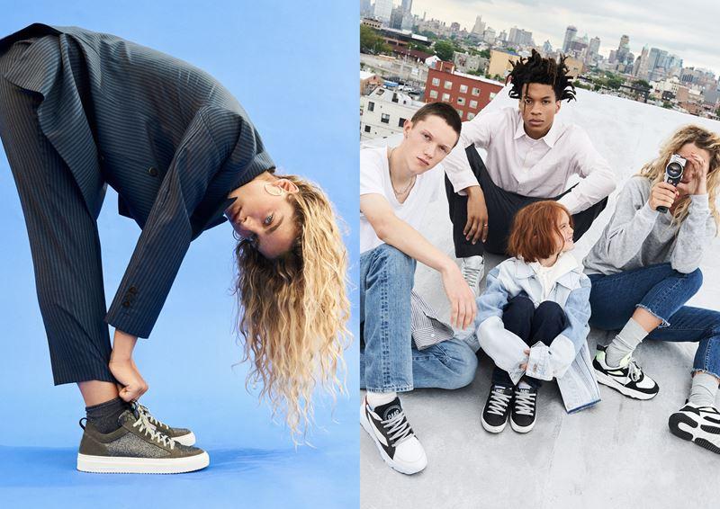 Рекламная кампания итальянского бренда кроссовок P448 осень-зима 2019-2020 - фото 6
