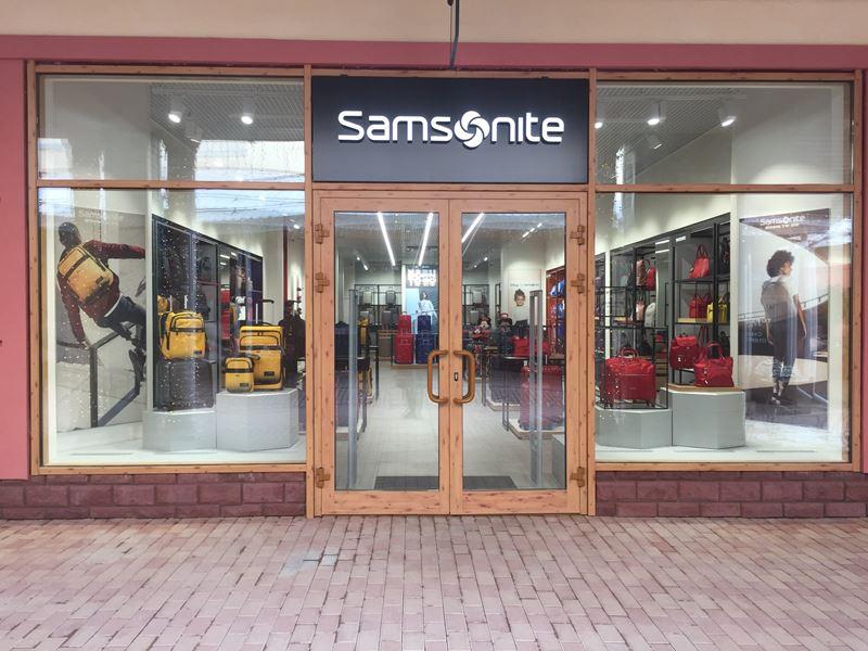 В Novaya Riga Outlet Village открылся новый салон Samsonite