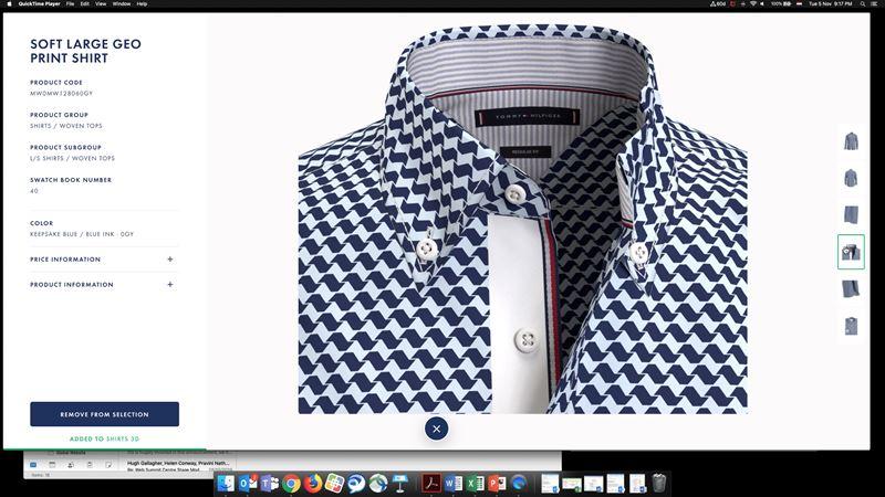 Tommy Hilfiger переходит на 3D-дизайн одежды - фото 1