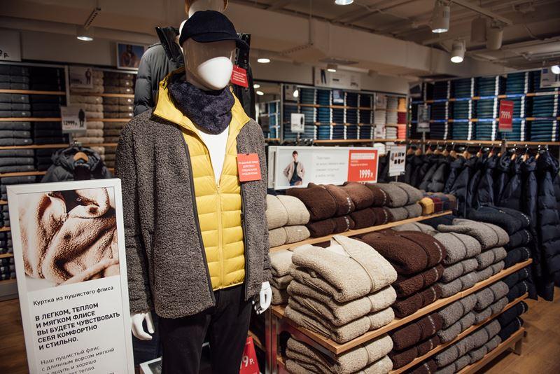 UNIQLO открыл первый в России магазин в формате стрит-ритейл в Санкт-Петербурге - фото 3