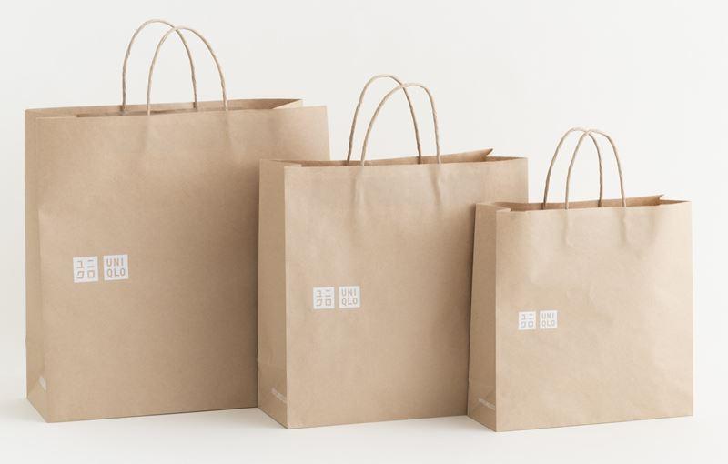 UNIQLO перейдёт на экологичные бумажные пакеты в 2020 году
