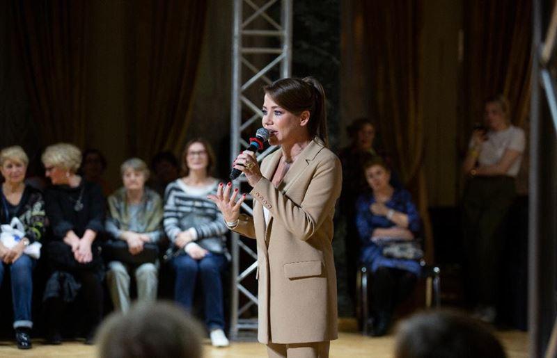 Юлия Барановская на фестивале «Стильный возраст»