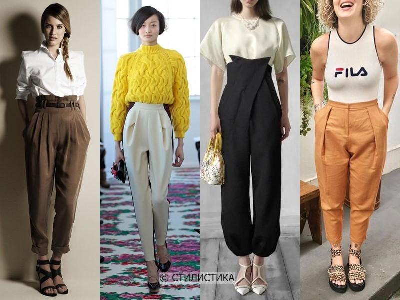 8 моделей брюк, которые полнят - Брюки-бананы или «кэррот»