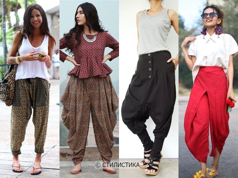 8 моделей брюк, которые полнят - Восточные штаны: шаровары, афгани