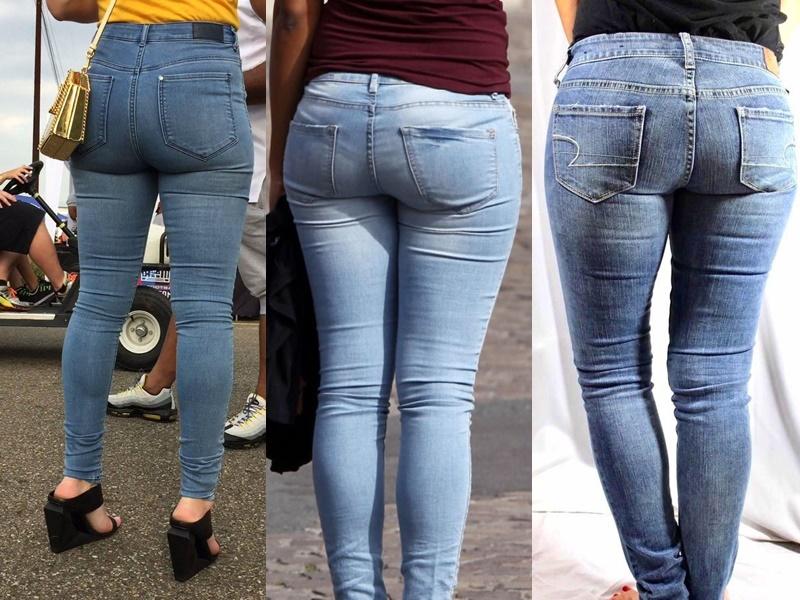 5 моделей джинсов, которые полнят - Тонкие облегающие скинни, впивающиеся в тело