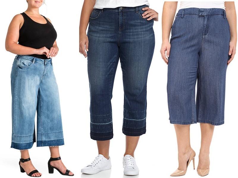 5 моделей джинсов, которые полнят - Джинсы-кюлоты, облегающие сверху