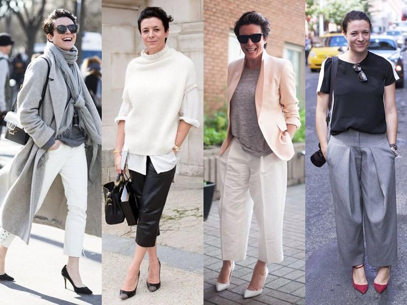 Французский стиль Гаранс Доре - Укороченные брюки и джинсы