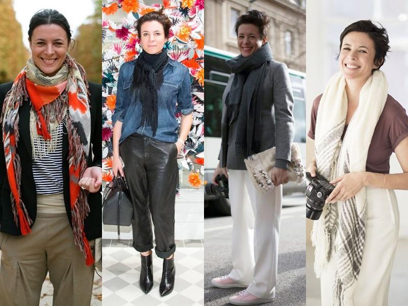Французский стиль Гаранс Доре - Модные шарфы