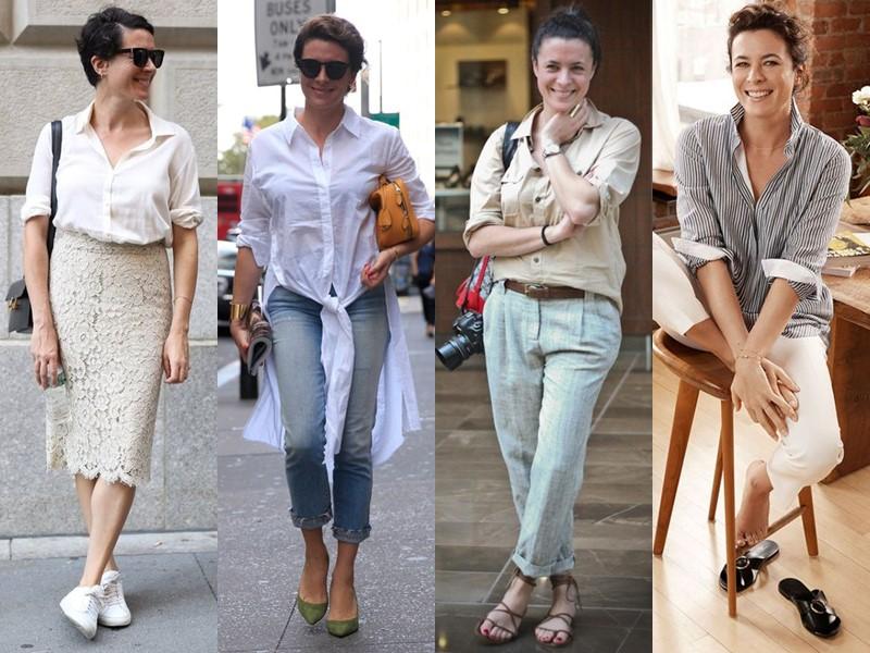 Французский стиль Гаранс Доре - Базовые рубашки
