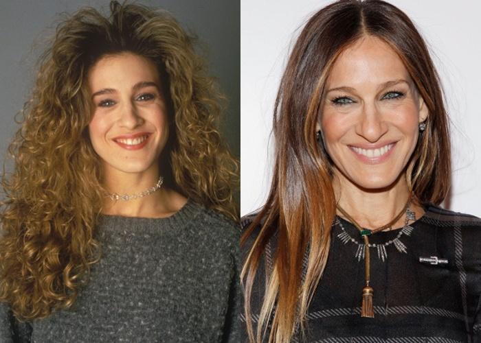 Волосы как шёлк: 7 знаменитостей, которые выпрямляют натуральные кудри - Сара Джессика Паркер