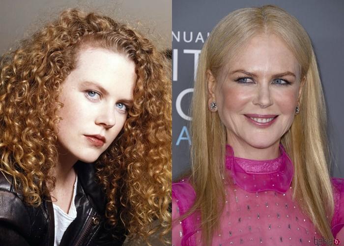 Волосы как шёлк: 7 знаменитостей, которые выпрямляют натуральные кудри - Николь Кидман