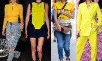 Стиль Беллы Хадид: цвета и оттенки одежды