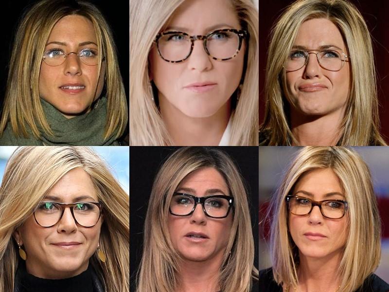 Какие очки носят знаменитости - Дженнифер Энистон