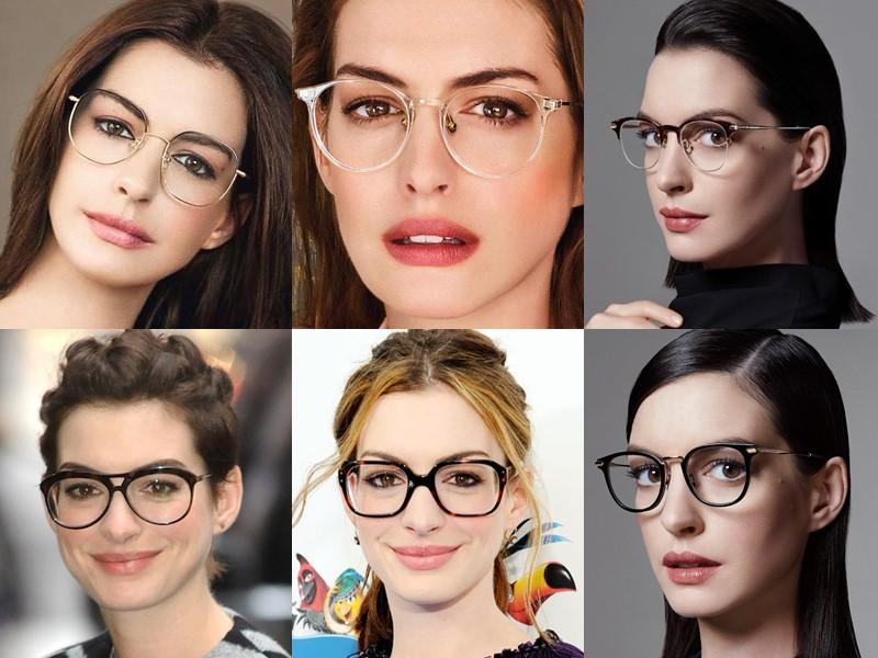 Какие очки носят знаменитости - Энн Хэтэуэй