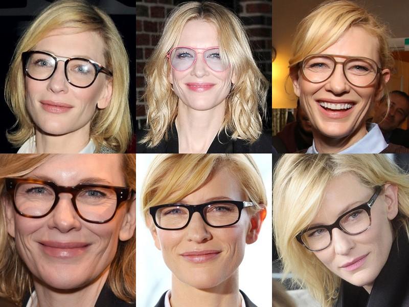 Какие очки носят знаменитости - Кейт Бланшетт