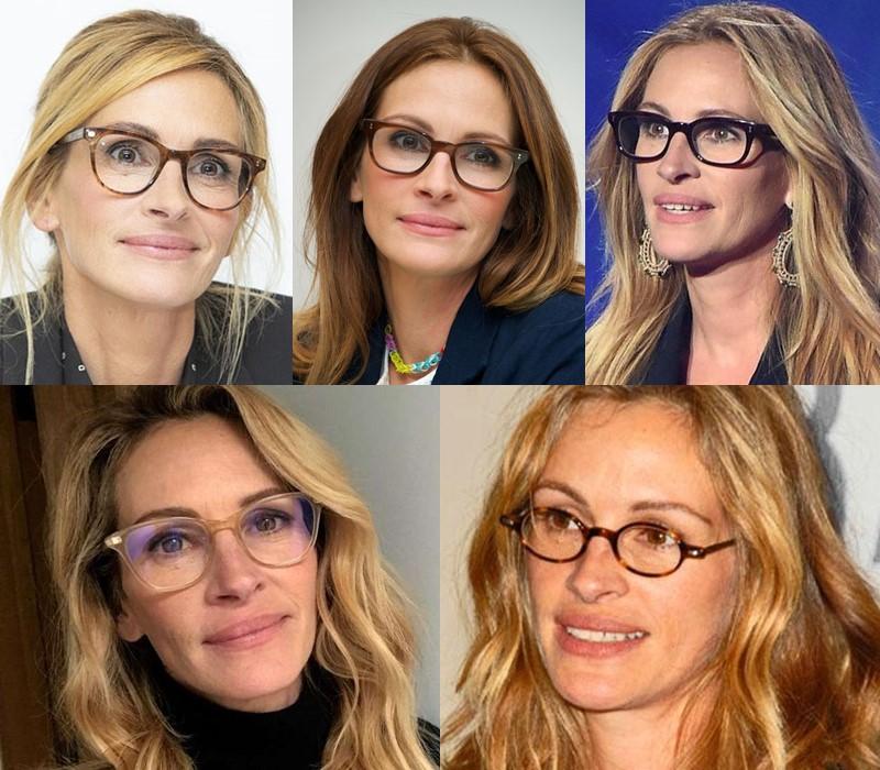 Какие очки носят знаменитости - Джулия Робертс