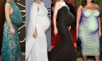 Платья с акцентом: 7 беременных звёзд, которые подчёркивали живот на красной дорожке