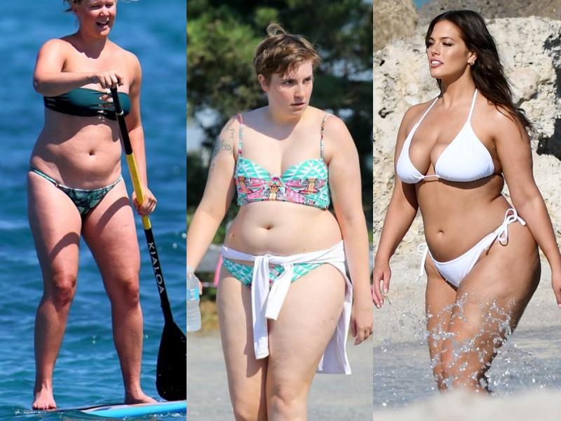 Бодипозитивные: знаменитости, которые не худеют к лету (но на пляж всё равно ходят)