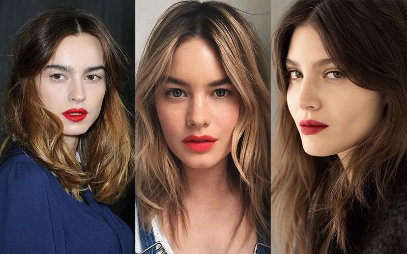 Французский шик: 10 деталей образа стильной парижанки - Красные губы