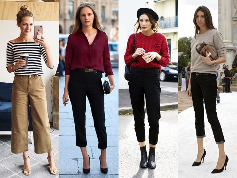 Французский шик: 10 деталей образа стильной парижанки - Укороченные брюки или джинсы