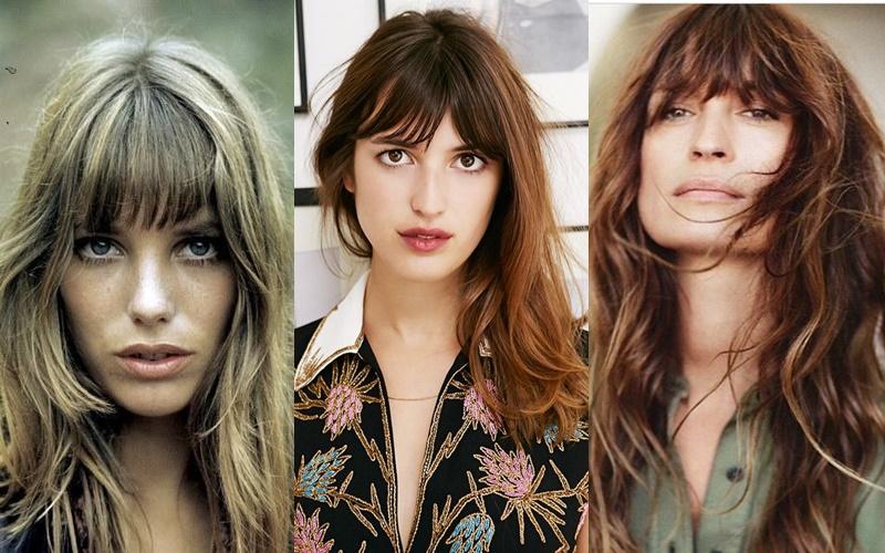 Французский шик: 10 деталей образа стильной парижанки - Растрёпанные волосы с небрежной чёлкой