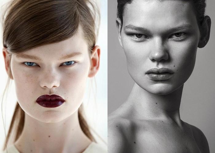 Страшно красивые: топ-модели с необычной внешностью - Келли Миттендорф