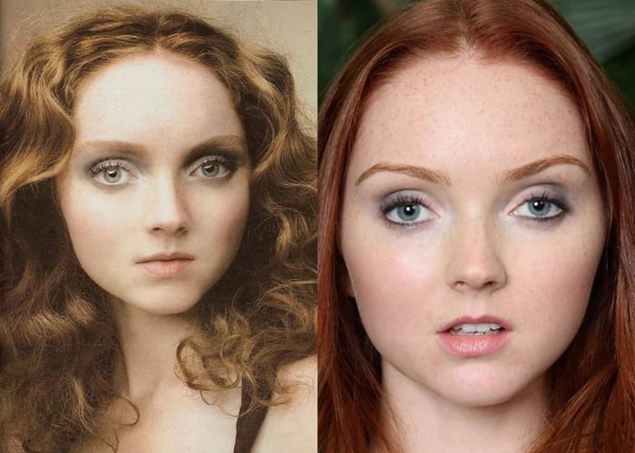 Страшно красивые: топ-модели с необычной внешностью - Лили Коул