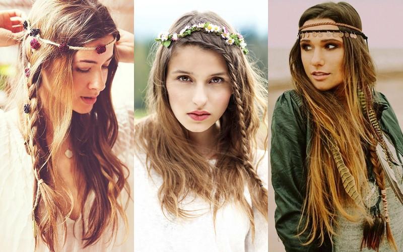 6 красивых ретро-причёсок из прошлого - фото - Причёски в стиле хиппи