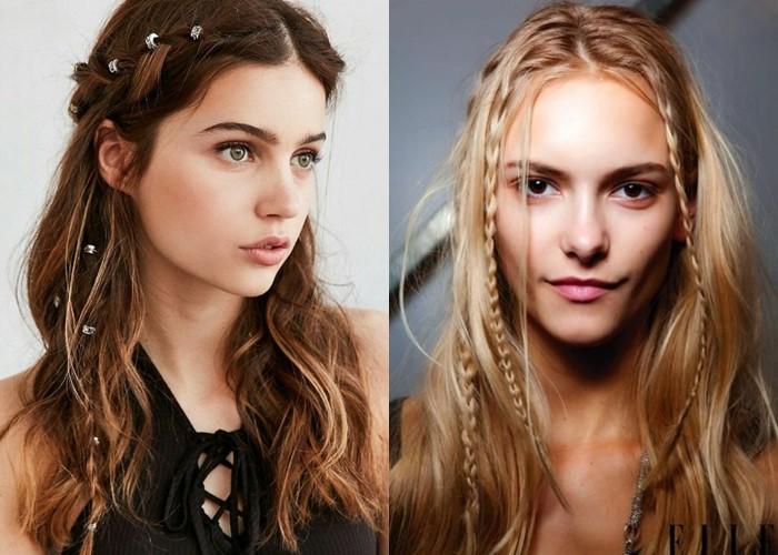 6 красивых ретро-причёсок из прошлого - фото - Причёски в стиле бохо