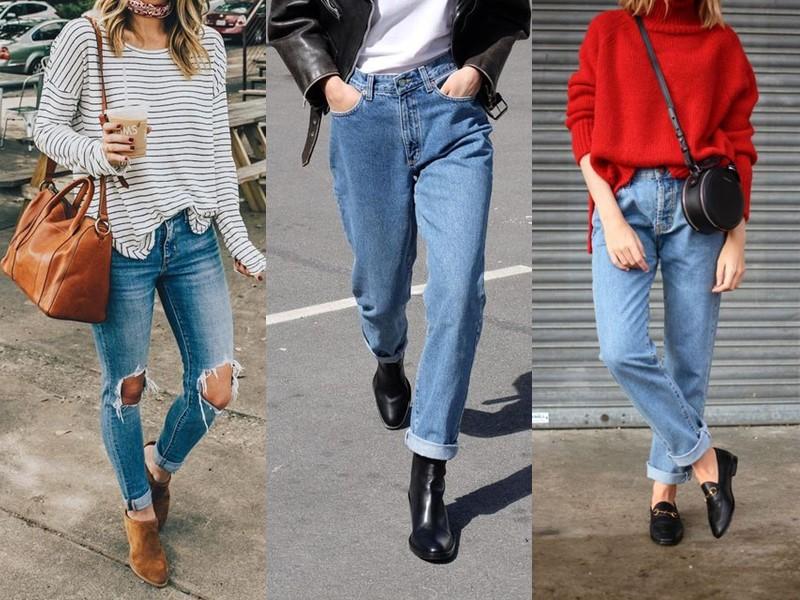 Модный демисезонный кэжуал: с чем носить джинсы весной и осенью?