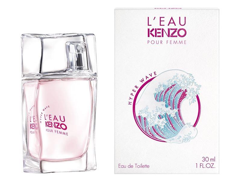 L'Eau Kenzo Hyper Wave – новый парный аромат Kenzo 2020
