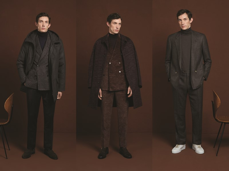 Лукбук мужской коллекции Corneliani осень-зима 2020-2021 - фото 7