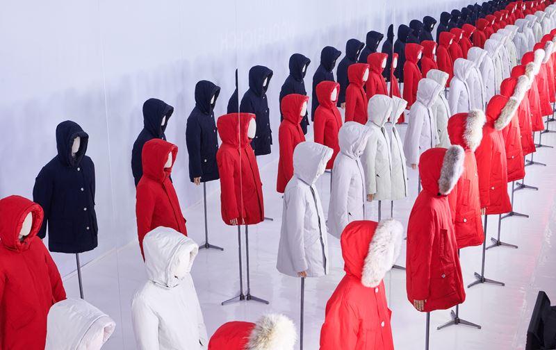 Иммерсивная инсталляция The Ultimate Woolrich Experience во Флоренции - фото 4