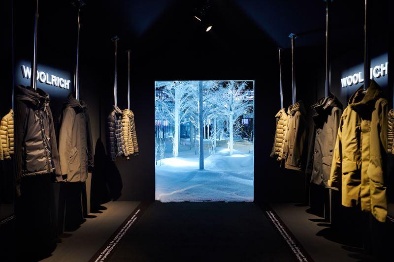 Иммерсивная инсталляция The Ultimate Woolrich Experience во Флоренции - фото 3