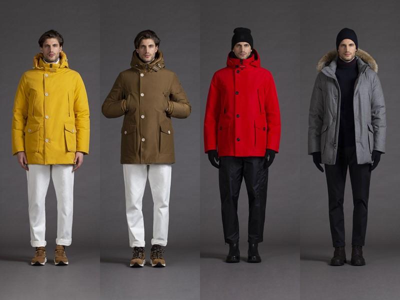 Мужская коллекция верхней одежды Woolrich осень-зима 2020-2021