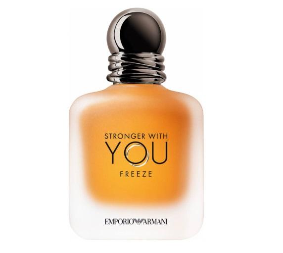 Новинки мужской парфюмерии 2020: новые ароматы - Stronger with You Freeze (Giorgio Armani)