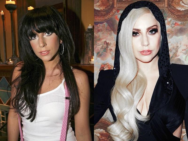 10 звёзд брюнеток и шатенок, которые прославились, став блондинками - Леди Гага