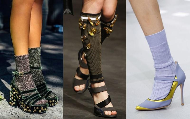 5 антитрендов в женской обуви 2020 - туфли с носочками