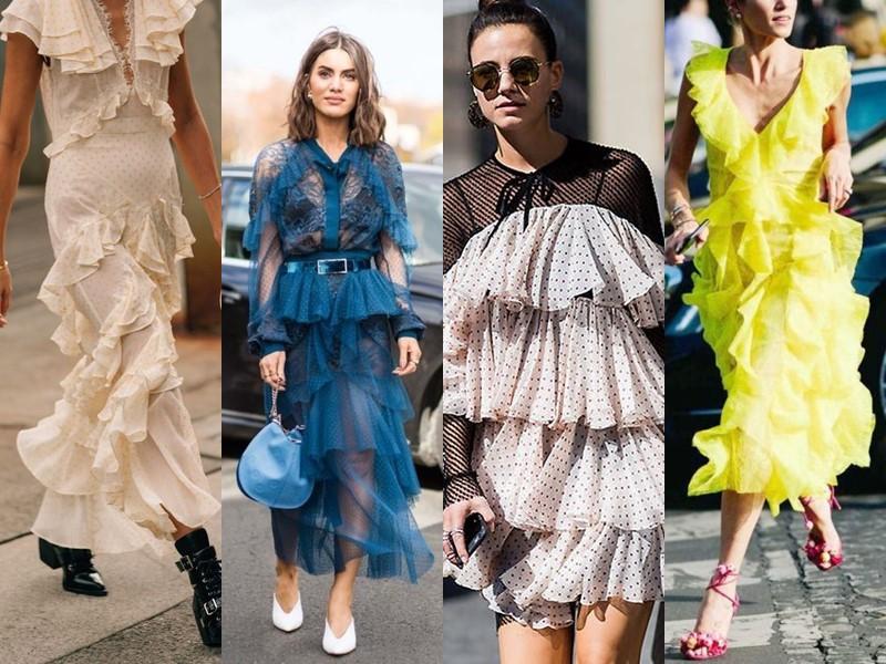 10 летних платьев с воланами, в которые невозможно не влюбиться