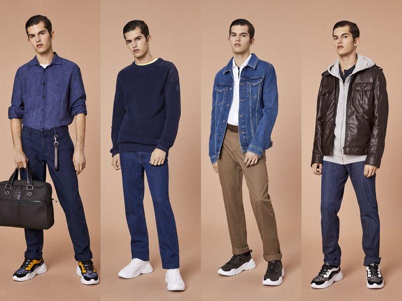 Лукбук мужской коллекции Trussardi Jeans весна-лето 2020 - 1